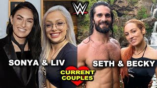 10 Surprising Current WWE Couples 2020 - Sonya Deville & Liv Morgan, Seth Rollins & Becky Lynch