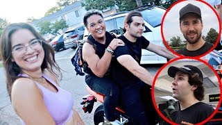SHE DIDN'T EXPECT THIS!!
