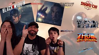 Marvel Celebrates The Movies - REACTION!!! Phase 4 Movies!!!