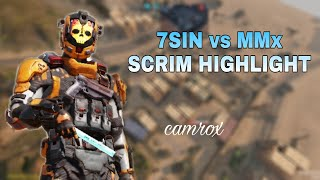 Scrim highlight ⚔️ | 7SIN vs MMx |
