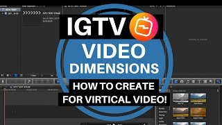 ✅IGTV Video Dimensions - How To Create For Vertical Video ✅