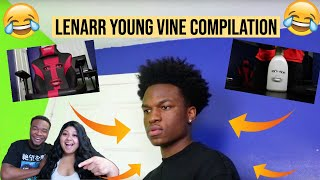 Lenarr Young Compilation Reaction! *FUNNY AS EVER!*