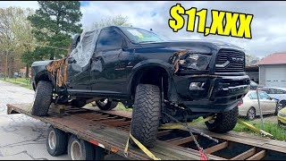 I Bought A Destroyed 2018 Dodge Ram 2500 For Cheap!