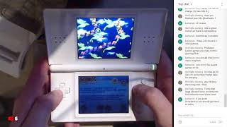 R4 card unboxing and Nintendo DS Lite setup live