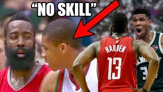 What You DON'T Know About The Giannis & Harden Rivalry In The NBA (Ft. No Skill, Dribbling, MVPs)