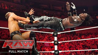 FULL MATCH: R-Truth vs. The Miz – United States Title Match: Raw, May 24, 2010