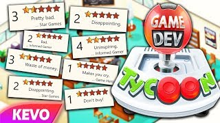 Game Dev Tycoon but I ruin the gaming industry