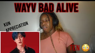 WayV 威神V 'Bad Alive (English Ver.)' MV *REACTION*