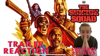SMITHBOI REACTS TO: James Gunn's The Suicide Squad Red Band Official Trailer (THIS MOVIE LOOKS NUTS)