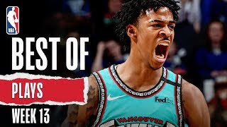 NBA's Best Plays | Week 13 | 2019-20 NBA Season