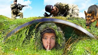 I Challenged an Actual SWAT Team to Camo Hide and Seek!