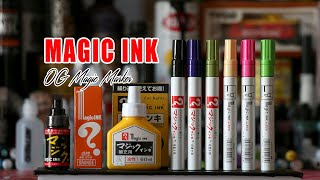 Magic ink Markers Update + Tips and Techniques