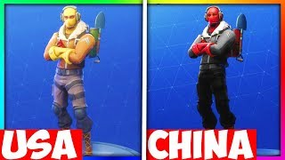 5 THINGS IN FORTNITE THAT ARE DIFFERENT IN OTHER COUNTRIES