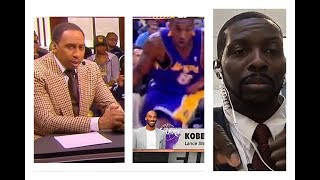 REACTION TO STEPHEN A SMITH SAYING KOBE BRYANT DENIES GOING TO LAKERS PRACTICES
