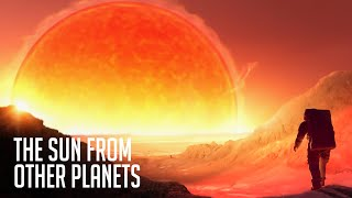 What Will the Sun Look Like From Venus And Other Planets?
