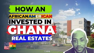 HOW an African American built a real estate in GHANA | Ayi mensah Park.. Kofi Anku