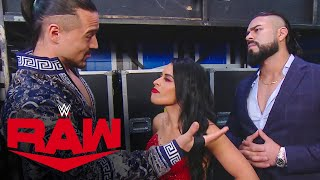 Zelina Vega walks out on Andrade & Angel Garza: Raw, Sept. 14, 2020