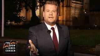 James Corden Celebrates London