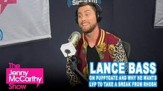 Lance Bass on LVP &  RHOBH Puppygate