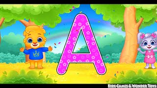 ABC Kids Tracing Phonics ||Learn ABC Alphabets|| Numbers Kids Game +More Nursery Rhymes & Kids Songs