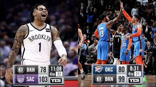 "NBA ""Crazy Comeback"" MOMENTS (Paul George, Russell Westbrook, D'Angelo Russell, etc.)"