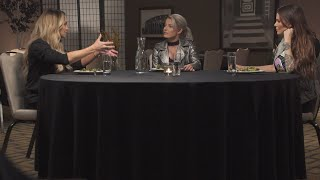 Trish Stratus and Lita recall competing in the first Women's Royal Rumble: Table for 3 (WWE Network)