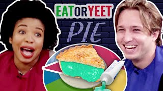 We Try the World's Weirdest Pies (Eat It or Yeet It #15)