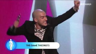 The Game Theorists Wins the Award for Gaming | Streamy Awards 2019