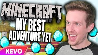 Minecraft but I go on my best adventure yet