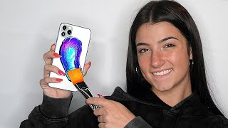 Surprising Charli D'Amelio With 20 Custom iPhone 11s!!📱📞 ft. TikTok & LilHuddy (Giveaway)