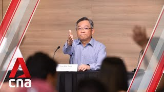 Singapore confirms first locally transmitted coronavirus cluster | Full media briefing and Q&A