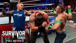 FULL MATCH  - Team Raw vs. Team SmackDown – Traditional Survivor Series Match: Survivor Series 2017
