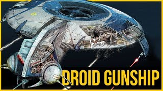 CIS Ships | Is the HMP Droid Gunship SENTIENT? | Star Wars Ships