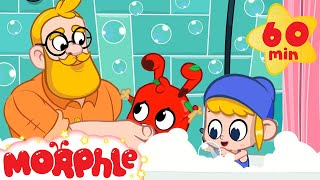 Morphle takes a Bath - Muddy Morphle | Stay Clean with Morphle | Cartoons for Kids | Morphle TV
