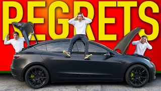 My Tesla Model 3 Regrets | The TRUTH After 15,000 Miles