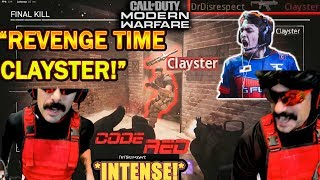 DrDisrespect TAKES REVENGE & BEATS CLAYSTER in COD 2V2 Tournament! (INTENSE WINS!)
