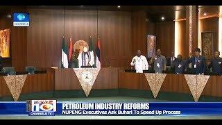 NUPENG Excos Ask Buhari To Speed Up Petroleum Industry Reforms
