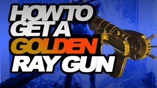 BLACK OPS 2: HOW TO GET A GOLDEN RAYGUN (HIDDEN WONDER WEAPON) - ZOMBIES - JIMBOTHY