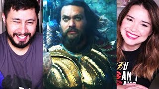 AQUAMAN | Trailer Reaction, Analysis & Discussion!