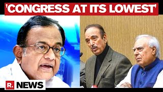 Ghulam Nabi Azad Backs Sibal & Chidambaram: 'Congress At Its Lowest, System Has Collapsed'
