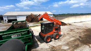 Testing Kubota Reach, Some Bad News & Working on my Office