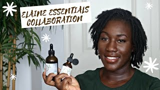 MY DAILY LOC ROUTINE | COLLABORATION WITH ELAINE ESSENTIALS