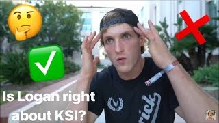 Is Logan wrong?!?!! The KSI and Logan Paul Press Conference and Updates to the Fight