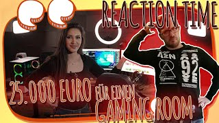 🤦‍♂️Reaction Time🤦‍♂️ 25.000 Euro für einen Gaming Room ?