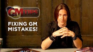 Fixing GM Mistakes! (GM Tips w/ Matt Mercer)