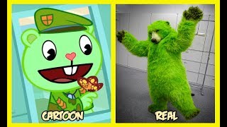 Happy Tree Friends Characters In Real Life