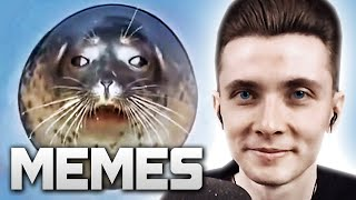 ХЕСУС СМОТРИТ МЕМЫ | REACTION TO DAILY DOSE OF INTERNET & UNUSUAL MEMES COMPILATION V133 | РЕАКЦИЯ